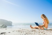 Blogging From The Beach